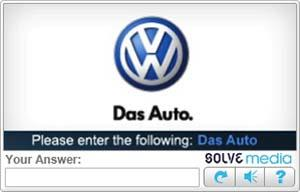 Ad-injected captcha